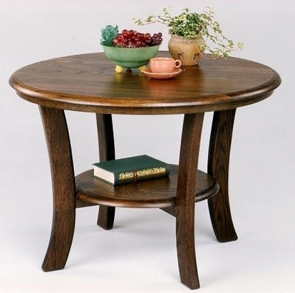 Senioren salontafel massief eiken