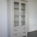 Vitrinekast F 2 deurs